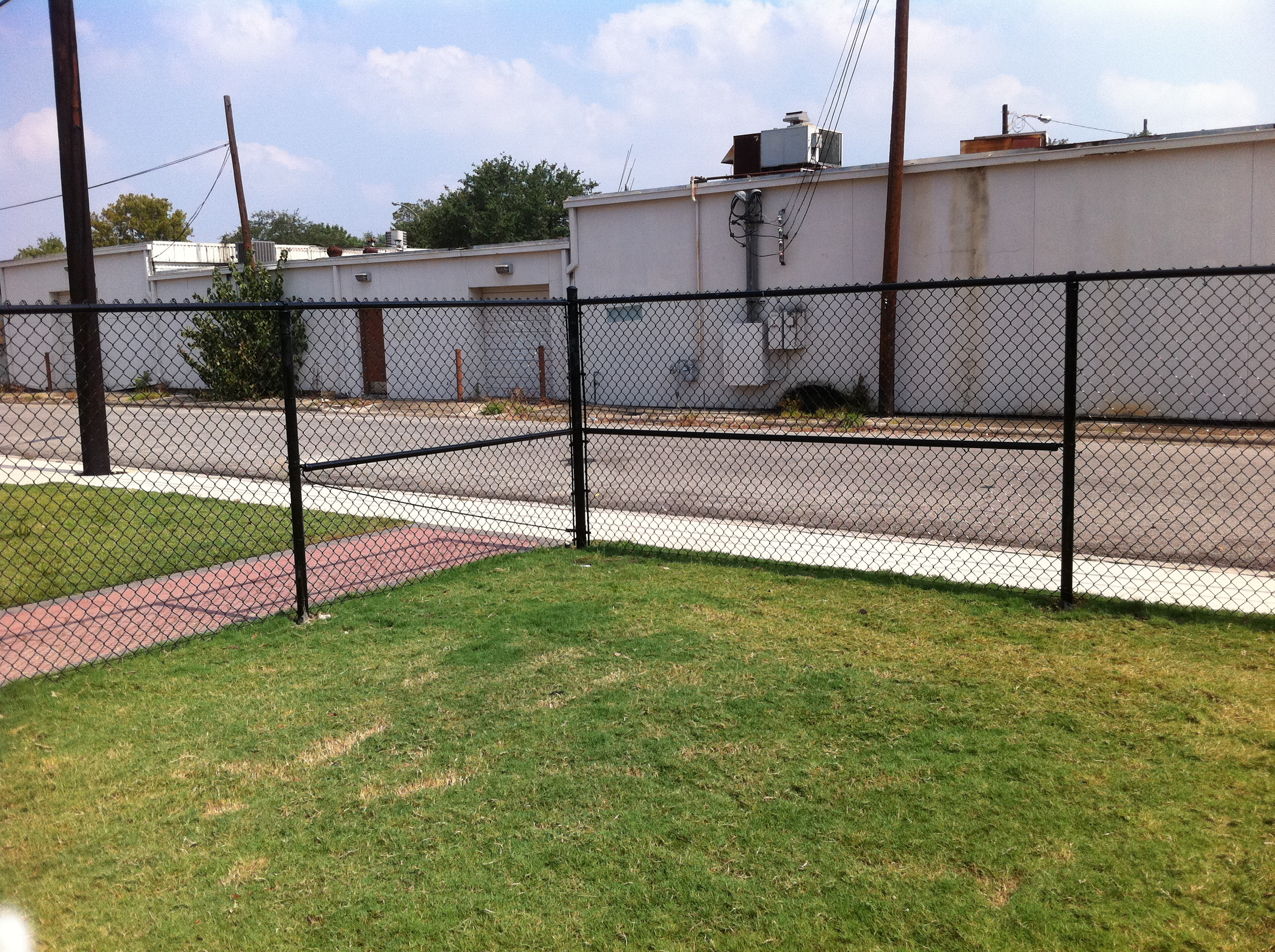 Commercial chain link fence gallery houston tx