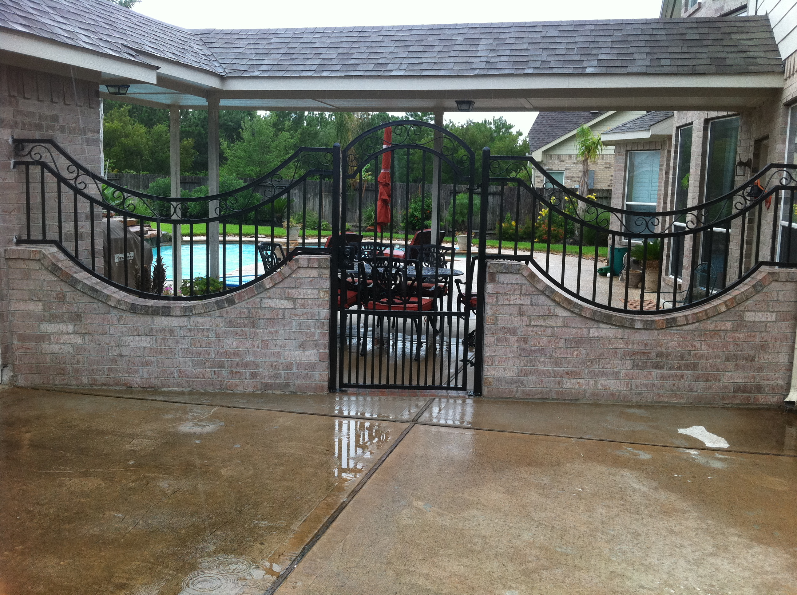 Masonry Fence Gallery Houston Tx