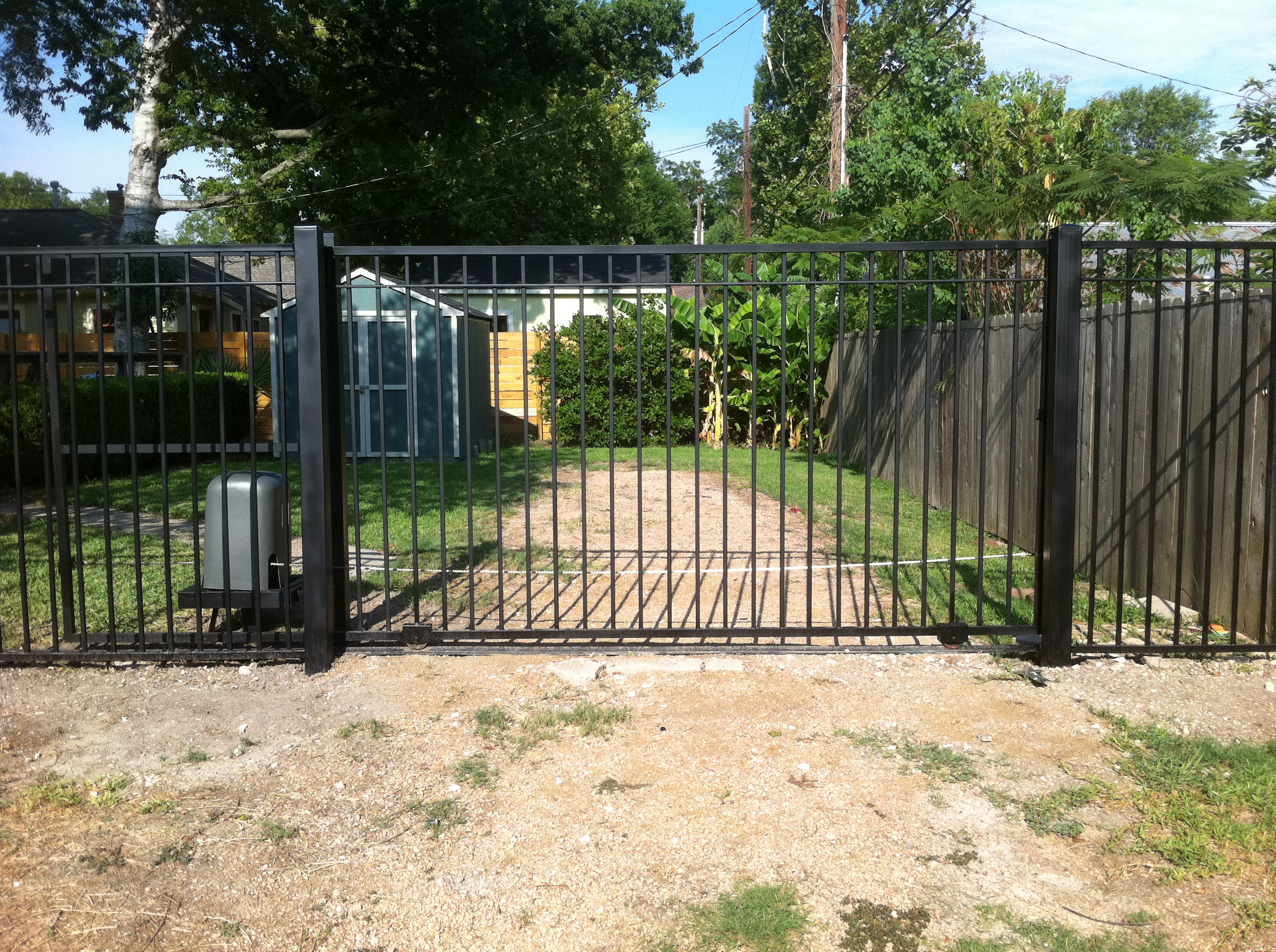 Residential Iron Fence Gallery Houston Tx