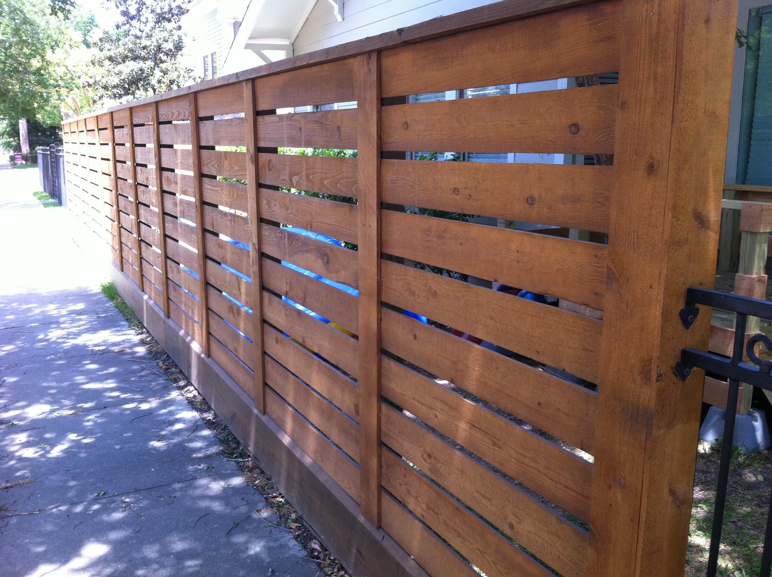 Residential Wood Fence Gallery Houston Tx