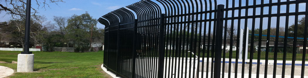 Commercial Wrought Iron Fence Houston Iron Fence Iron