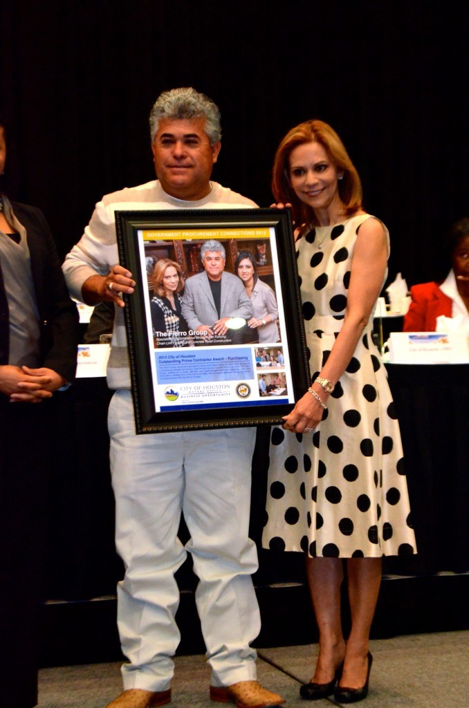 Mr. and Mrs. Flores with GPC Award