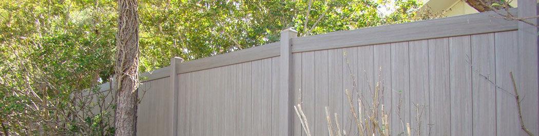 Commercial vinyl pvc privacy fencing houston tx