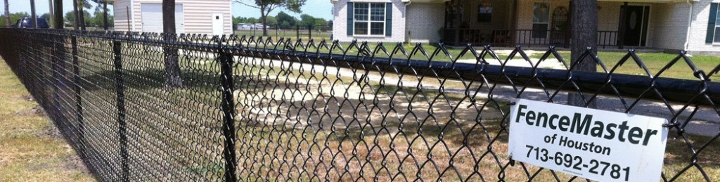 Residential Vinyl Chain Link Fencing