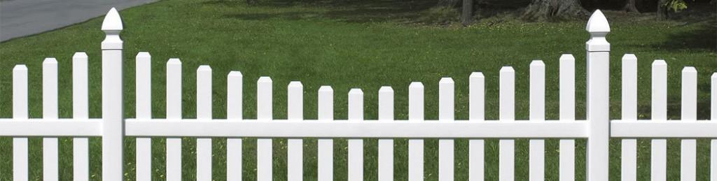 Residential Vinyl PVC Fencing