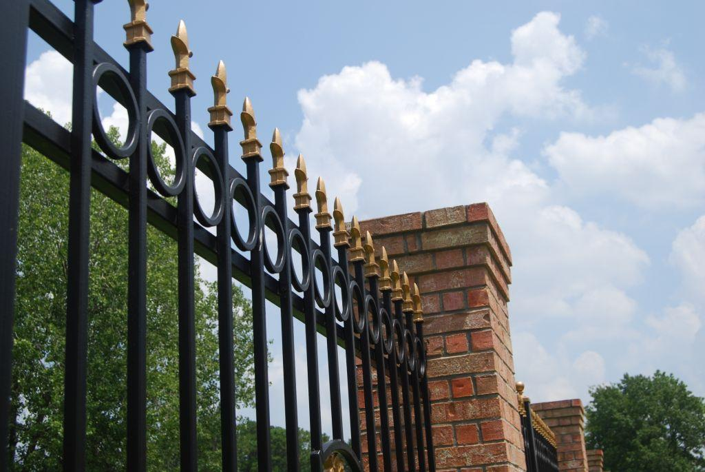 Adding Spears To Your Wrought Iron Fence Or Gate Plastic