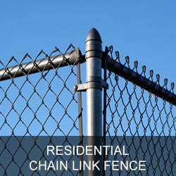 Residential Chain Link Fence Gallery