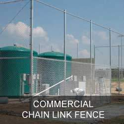 Commercial Chain Link Fence Gallery