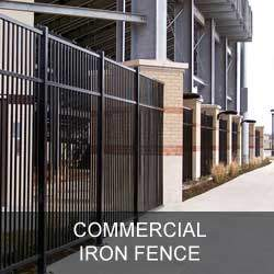 Commercial Iron Fence Gallery